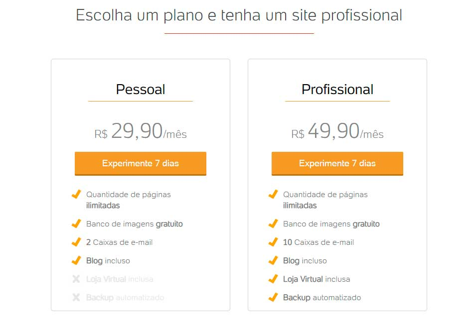 criador de sites uolhost