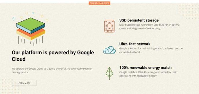 SiteGround Google Cloud